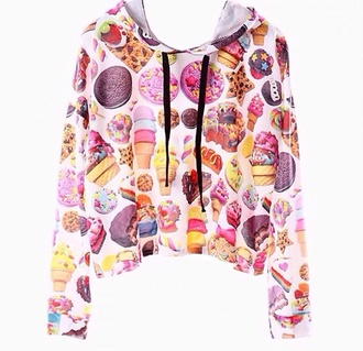 sweater food junk food sweets