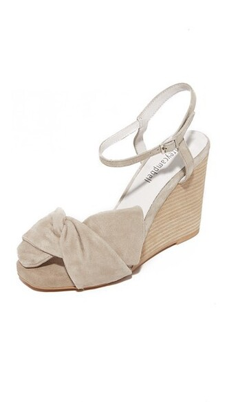 wedges nude shoes