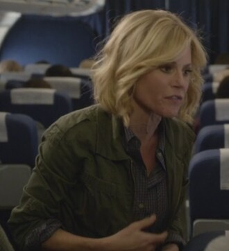 shirt military style claire dunphy julie bowen modern family green