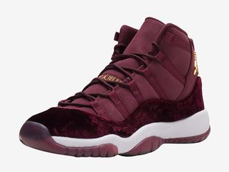 shoes jordans sneakers burgundy