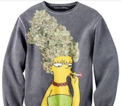 sweater,marge simpson,the simpsons,graphic tee