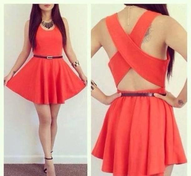dress, belt, jewels, shoes, summer