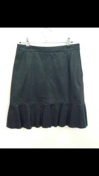 black leather leather skirt black leather skirt skirt matte black pleated skirt cute outfits matte black dress pleated skirts