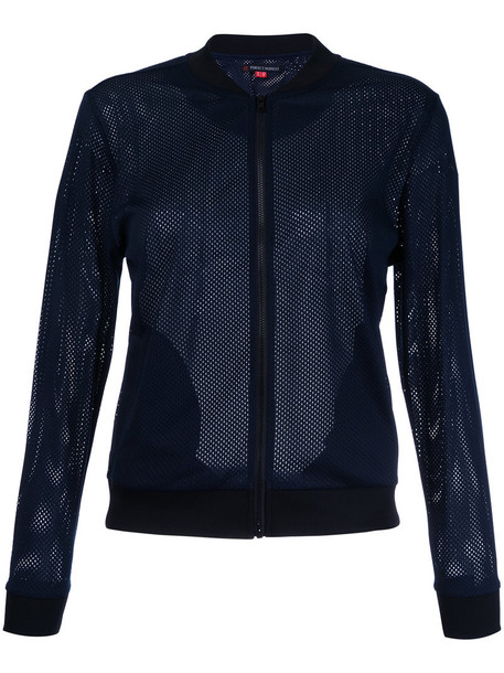 Perfect Moment jacket bomber jacket mesh women blue