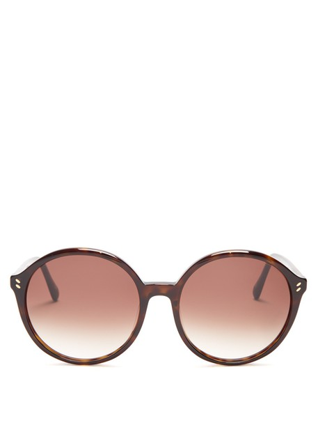 Stella McCartney sunglasses gold
