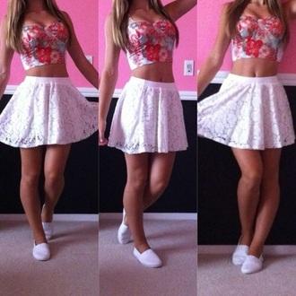 skirt mini skirt mini skirt and crop top