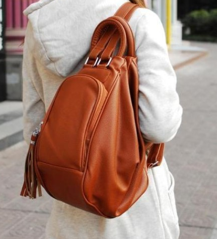 Multifunctional Tassel Messenger Bag