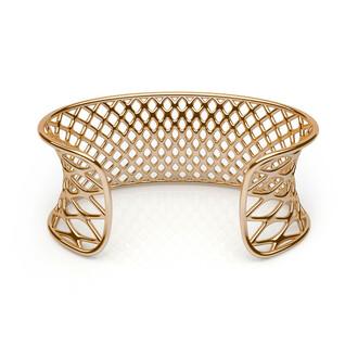 jewels gold cuff bracelet cuff joseph nogucci grid trendy