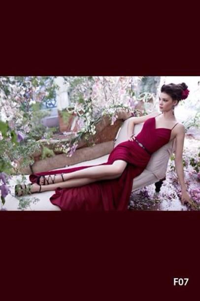 dress maxi dress red dress