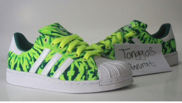 shoes adidas neon adidas neon superstar 2