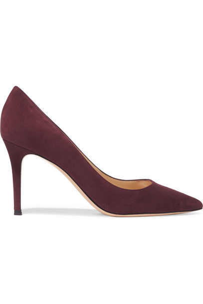 suede pumps pumps suede burgundy plum shoes