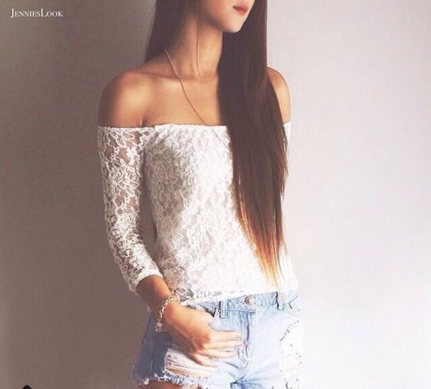 shorts style blouse