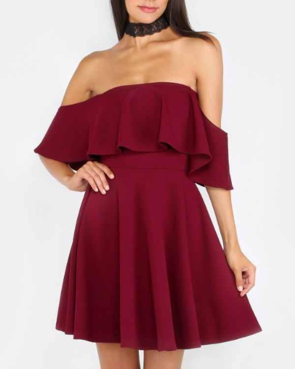 dress girly girl girly wishlist off the shoulder off the shoulder dress red  dress red frilly. 3c00fcff4