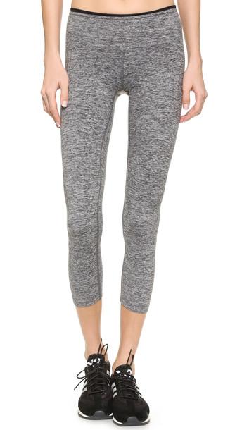 Koral Activewear Mystic Capri Leggings - Heather Grey