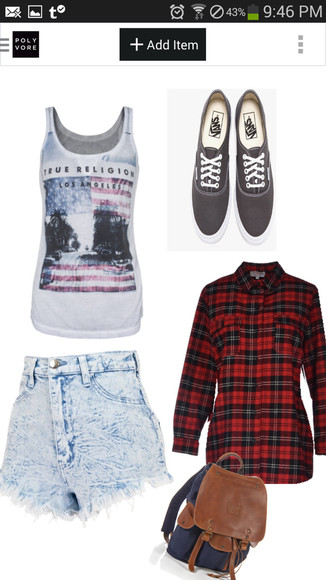 america Belt summer lovr vans flannel grunge fourth july summer love
