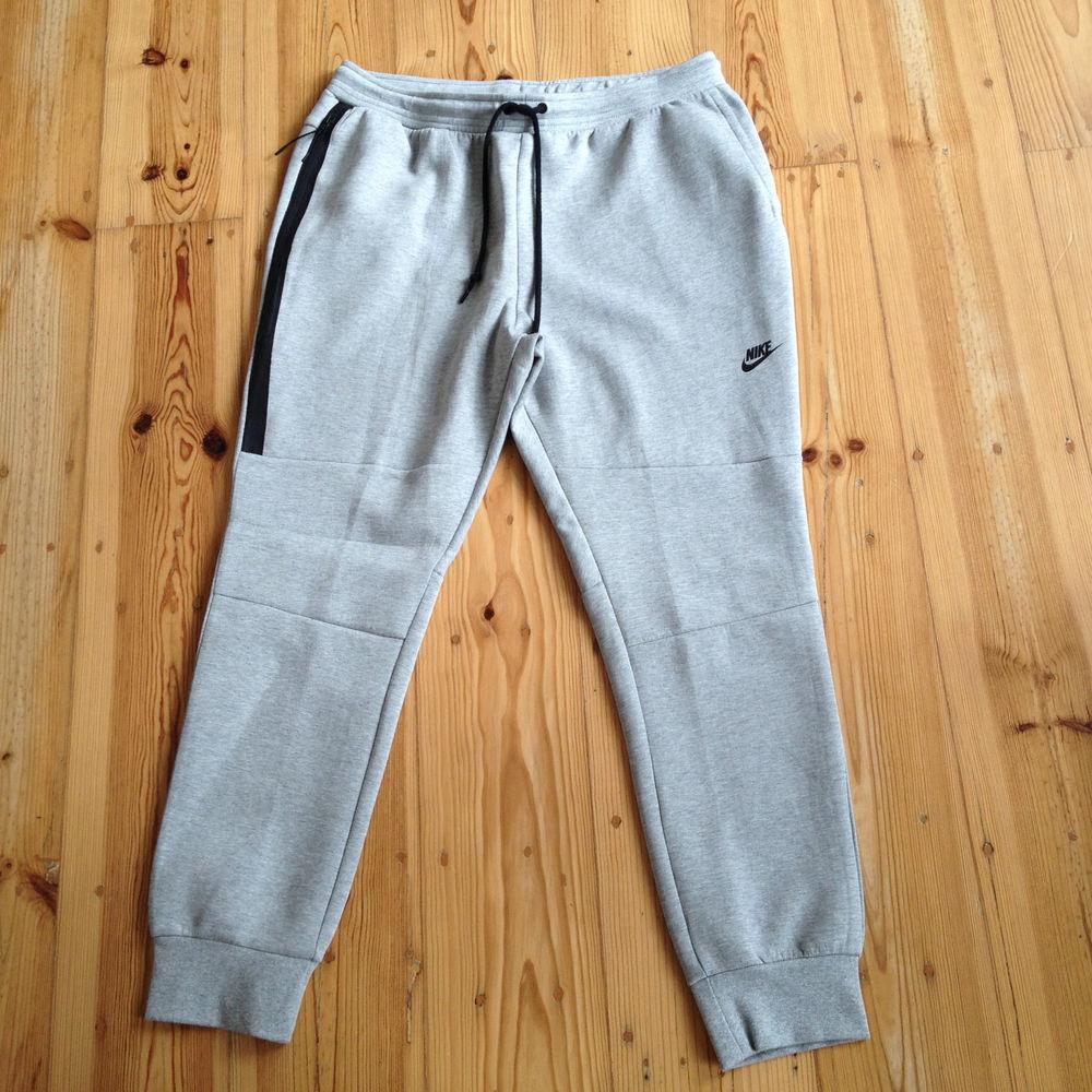 Nike Tech Fleece Pants 2XL Cuff Pant Heather Grey Trousers Pack 545343 063 | eBay