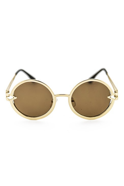 Free love gold sunglasses