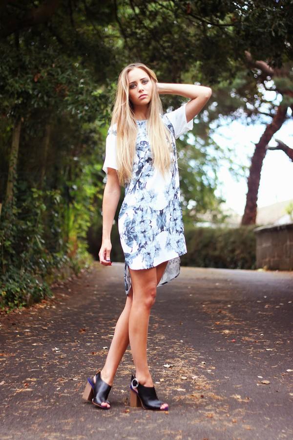 koko luxe blogger shoes dress
