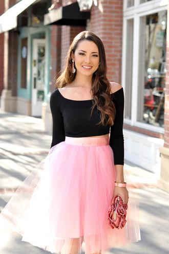 hapa time blogger shoes skirt top bag jewels