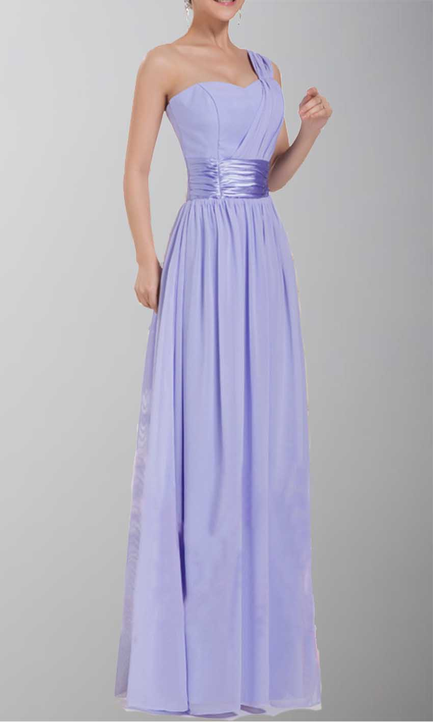 Allure One Shoulder Prom Dresses Under 100 KSP072 [KSP072] - £84.00 ...
