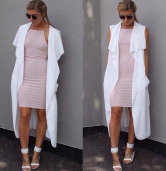 jacket vest dress style fashion trendy trench coat