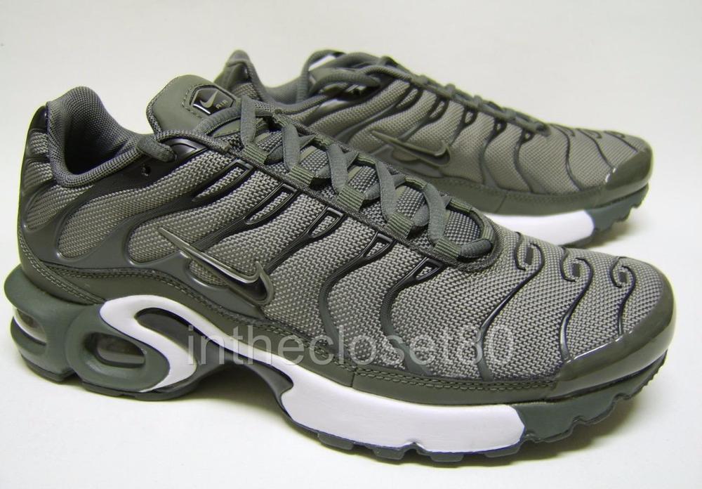Nike Air Max Plus GS Tn Tuned Dark Stucco Green Juniors