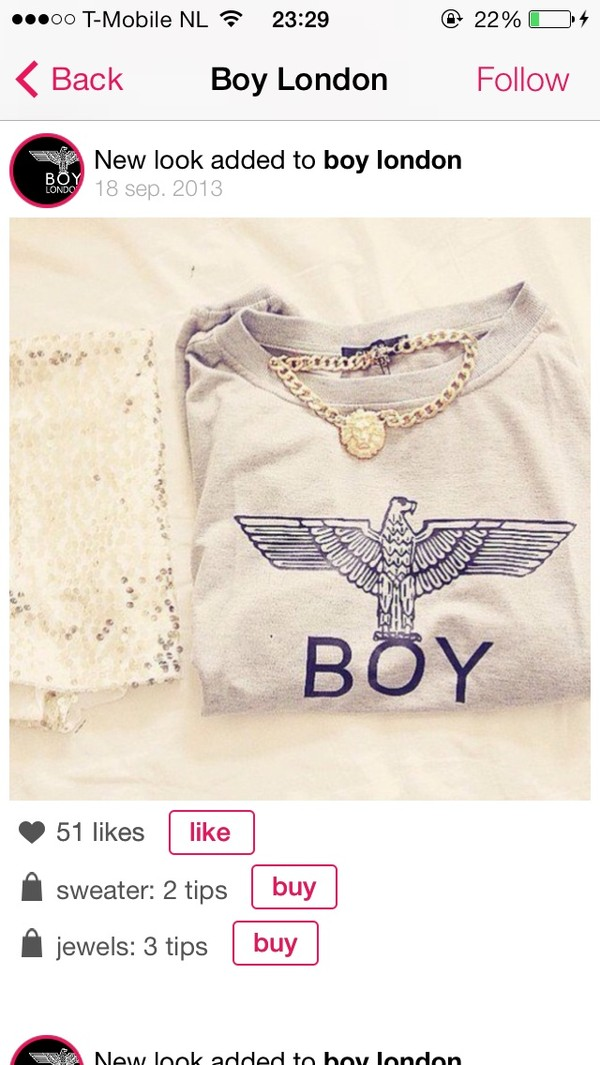 sweater boy boy london london boy london hoodie jewels