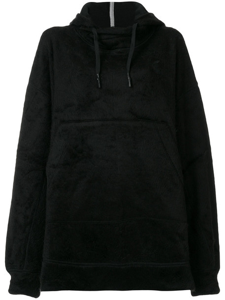 VIVIENNE WESTWOOD RED LABEL hoodie oversized women cotton black sweater