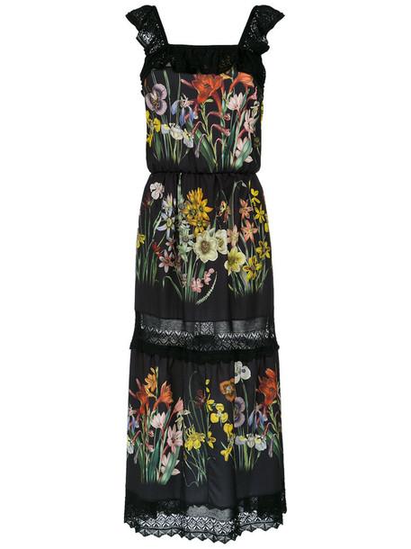 Cecilia Prado dress print dress women floral print black
