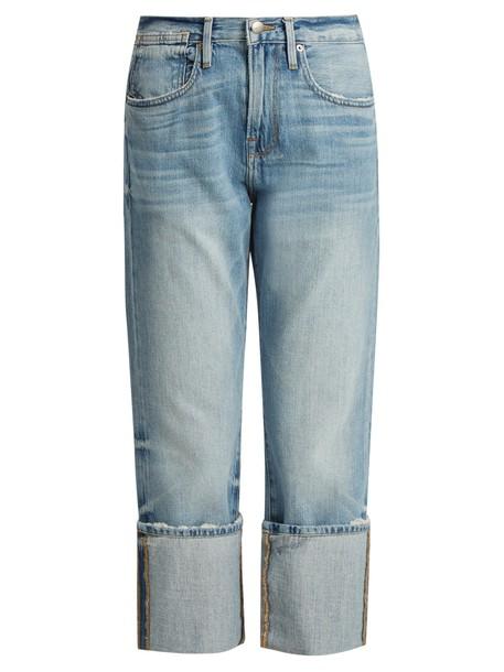 FRAME jeans oversized light blue light blue