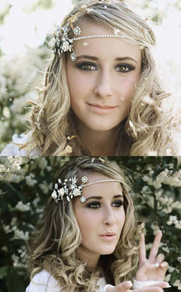 jewels pearl headbands