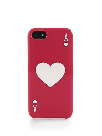 iphone cover technology heart valentines day valentines day gift idea kate spade earphones