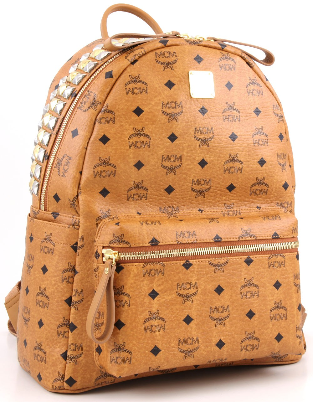 Mcm stark backpack cognac 40 cm mwk2sve12co001 for What does mcm the designer stand for