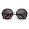 New round fashion designer womens sunglasses 8692