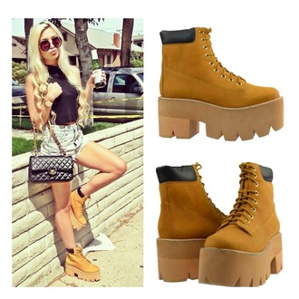 shoes wheat jeffrey campbell boots