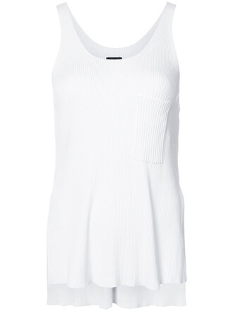 women white top