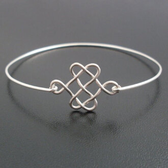 jewels cute bracelets silver celtic infinity