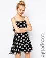 Asos petite daisy print cami dress at asos.com