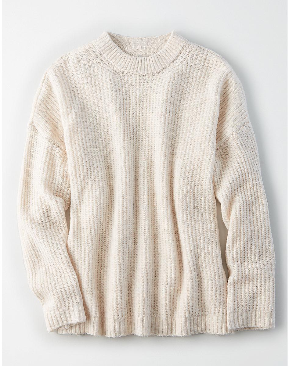 AEO Oversized Softest Crew Neck Sweater