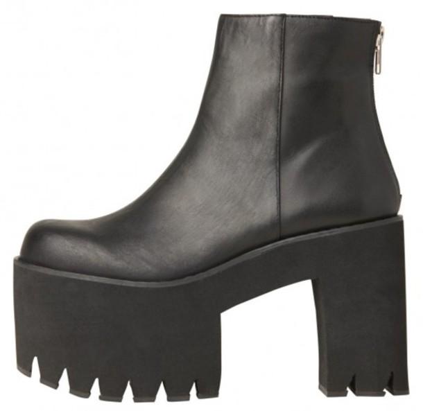 41d3d94f31b shoes platform shoes black boots boots leather high heels pumps