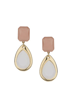 Teardrop Stone Drop Earrings - Earrings - Jewellery - Bags & Accessories- Topshop