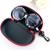 Black Letters Print Round Sunglasses - Sheinside.com