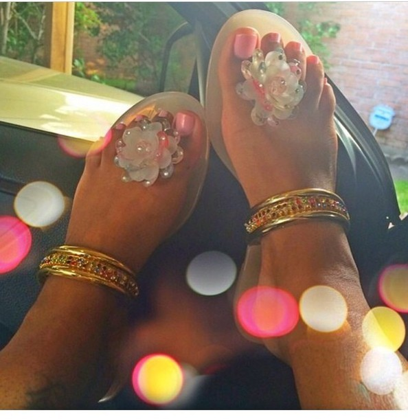 shoes sandals summer shoes toes out cute sandals
