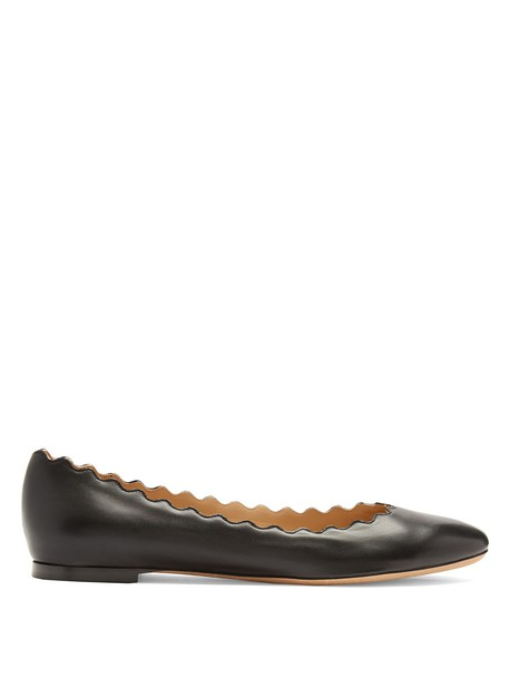 Chloe ballet flats ballet flats leather black shoes