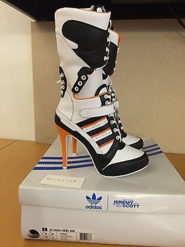jeremy scott adidas high heels
