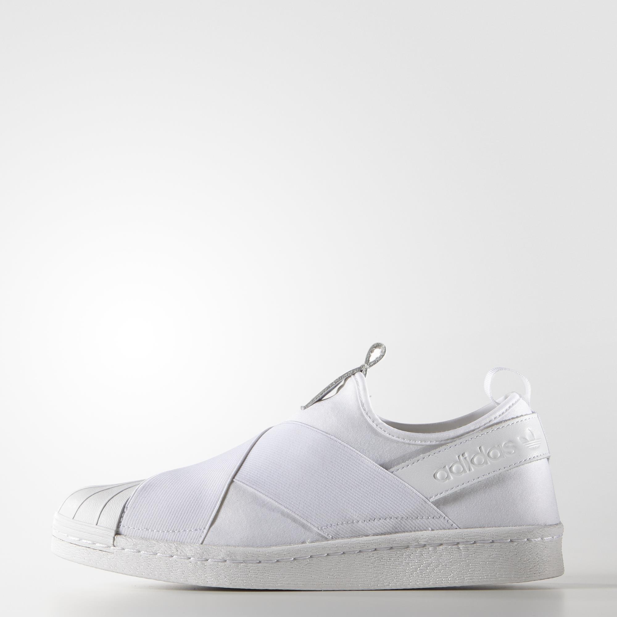 adidas Superstar Slip On Schwarz Damen BD8055