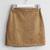 Somemoment - Corduroy Mini Skirt