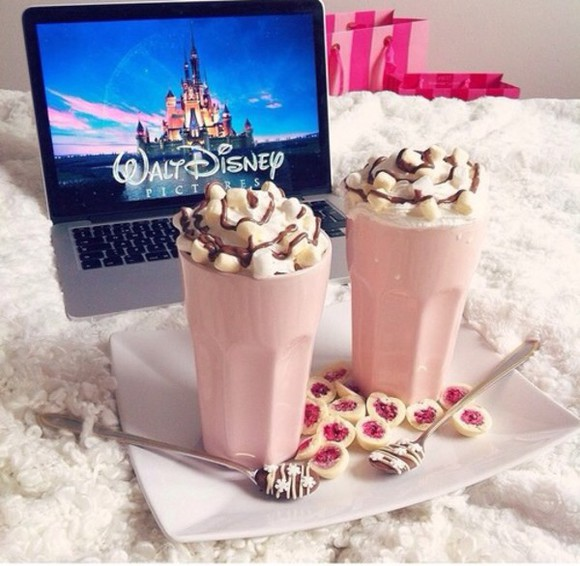 food hair accessories mug pink girly