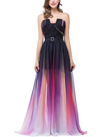 Chiffon Formal Evening Dresses