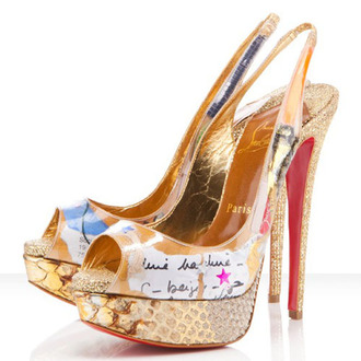 shoes multicolor  christian louboutin christian louboutin slingbacks christian louboutin 140mm christian louboutin shoes